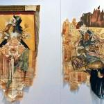 Monica Canilao and Swoon, Chandran Gallery