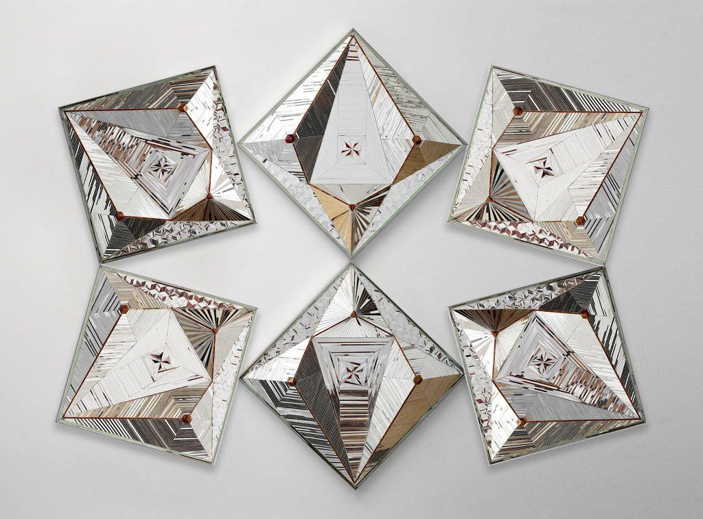 Haines Gallery: Monir Farmanfarmaian 'Convertibles' @ Haines Gallery | San Francisco | California | United States