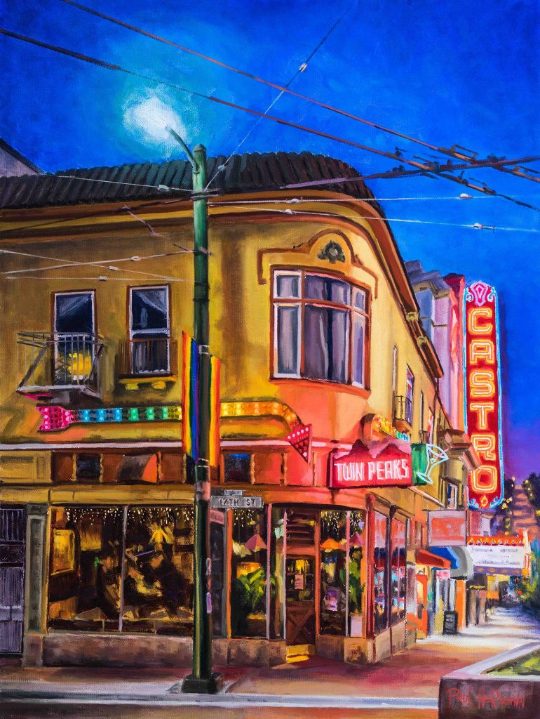 Madrone Art Bar: Paul Hermann 'City Nights' @ Madrone Art Bar | San Francisco | California | United States