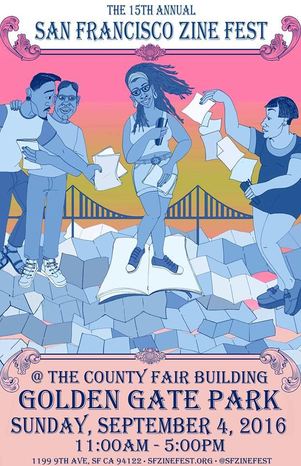 The 15th Annual San Francisco Zine Fest