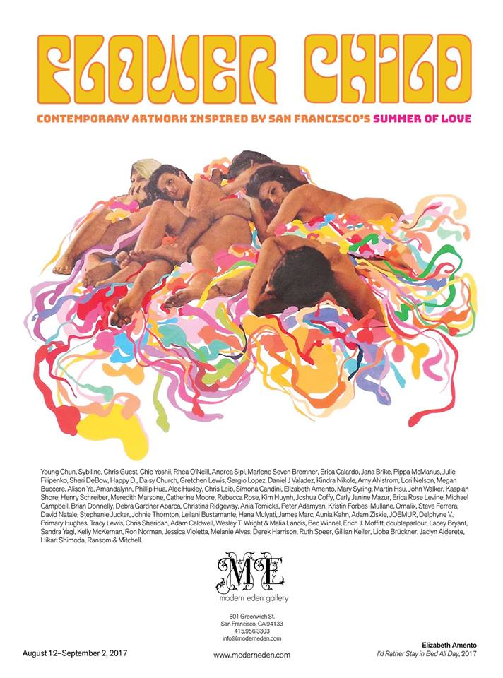 Modern Eden Gallery: 'Flower Child' Art Inspired by San Francisco's Summer of Love @ Modern Eden Gallery | San Francisco | California | United States