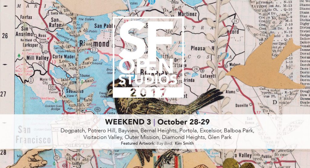 SF Open Studios Weekend 3: Oct 28-29, South/East @ San Francisco | California | United States