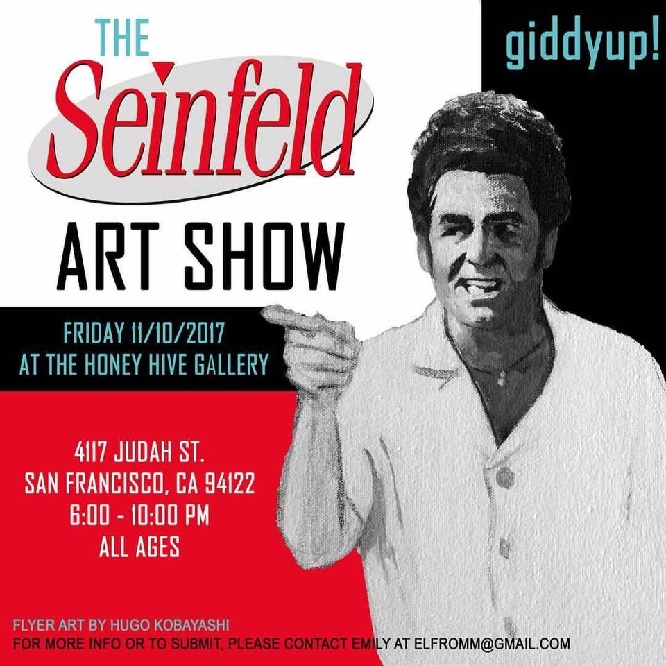 An Art Show About Nothing: The HH Gallery's Seinfeld Art Show @ The Honey Hive Gallery | San Francisco | California | United States